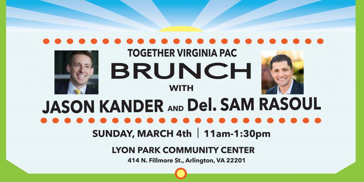 Brunch with Jason Kander and Sam Rasoul
